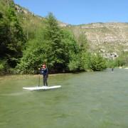 Dévouvrez les Gorges du Tarn autrement en stand up paddle