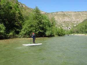 Paddle dans les Gorges du Tarn